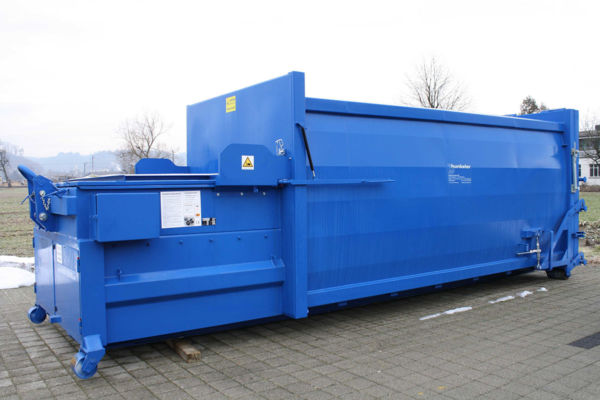 Press container I Compactor