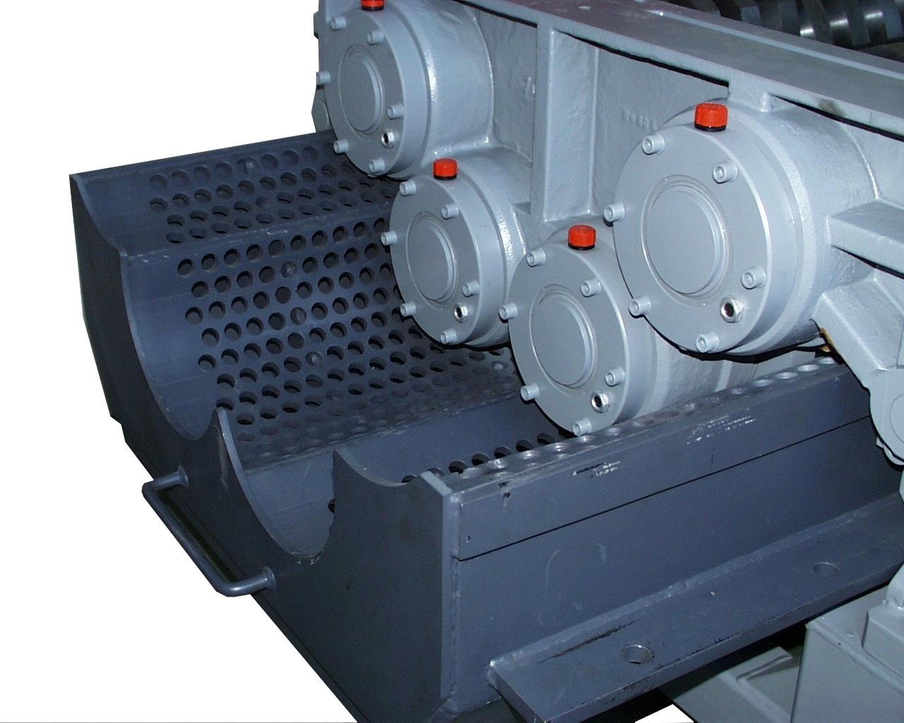 Four shaft shredder RS