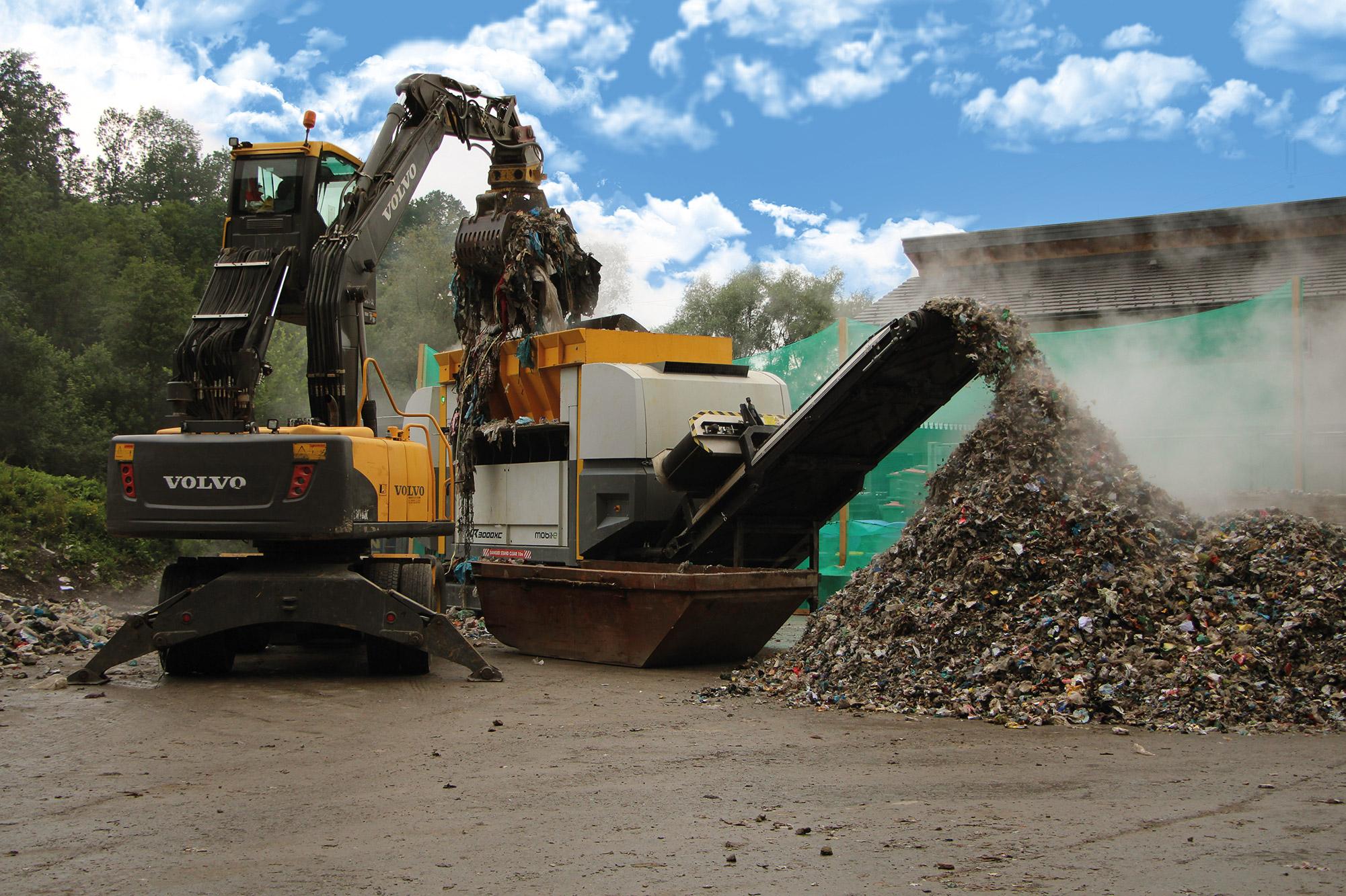 One shaft shredder CR / XR