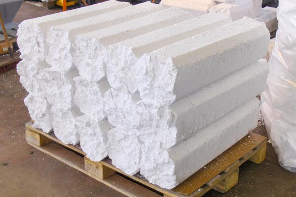 Styrofoam presses